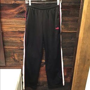 Puma Athletic Pant With Pockets Straight Leg SM